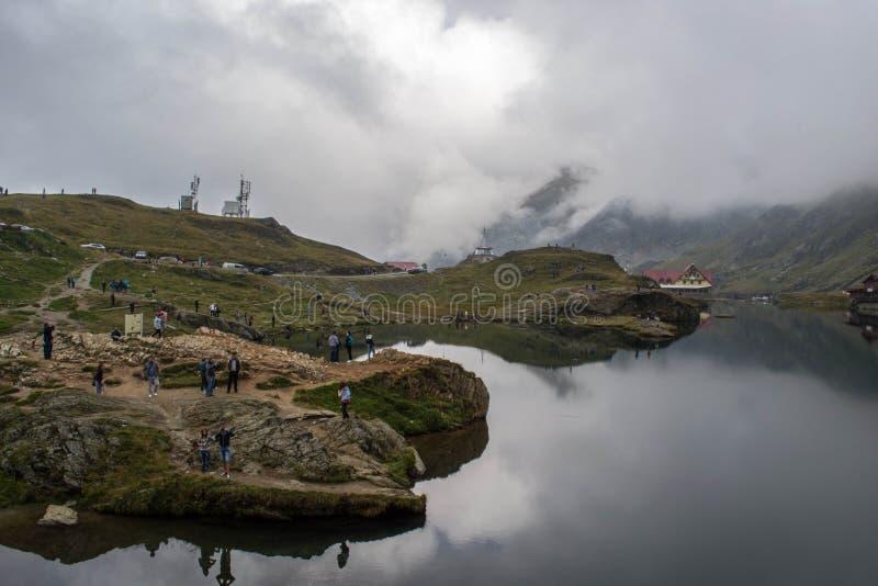 Lago Balea fotos de stock royalty free