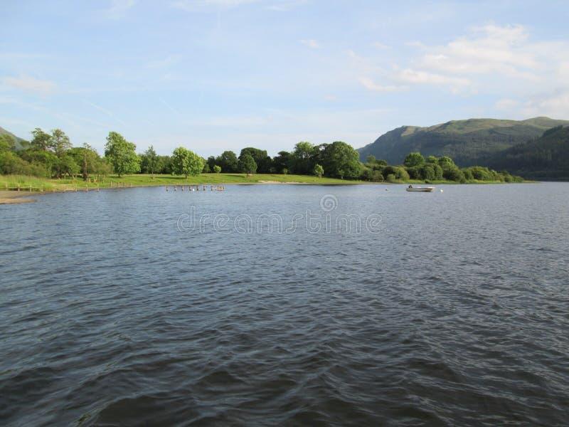 Lago Bassenthwaite fotos de archivo