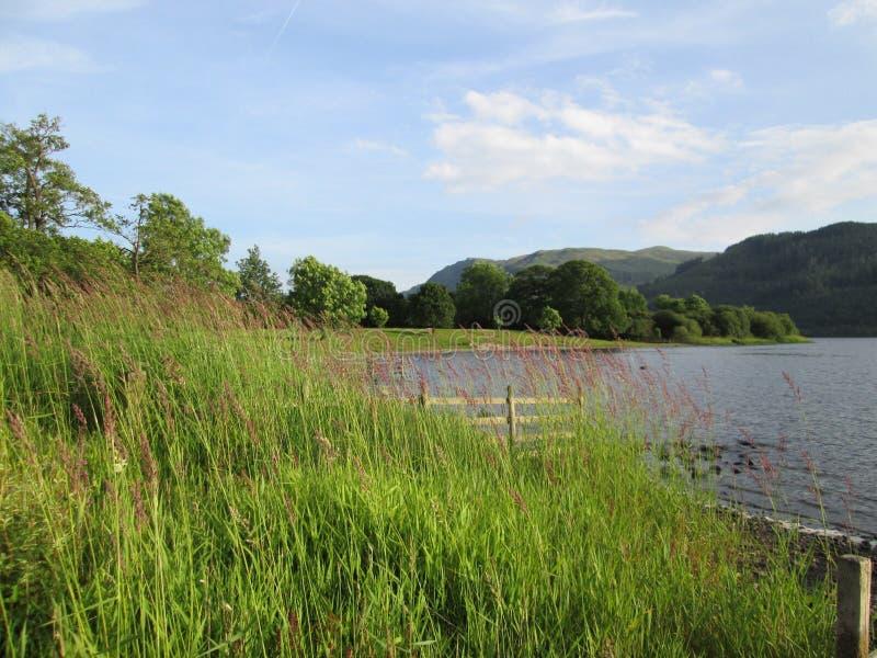 Lago Bassenthwaite imágenes de archivo libres de regalías
