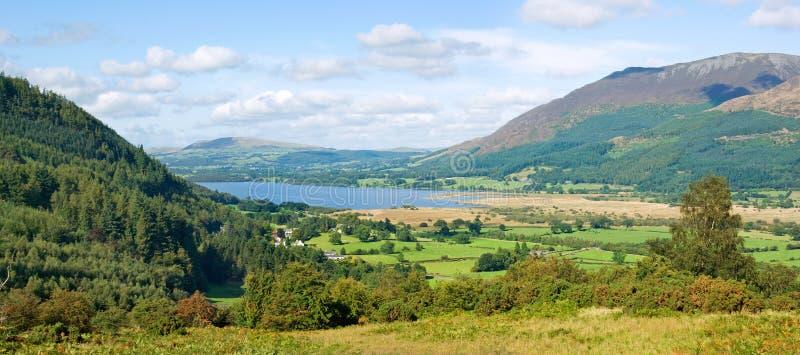 Lago Bassenthwaite, Cumbria, Inglaterra fotografia de stock royalty free