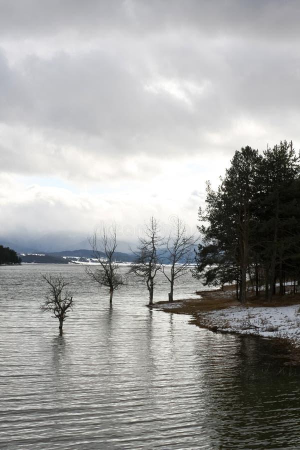 Lago Batak immagini stock libere da diritti