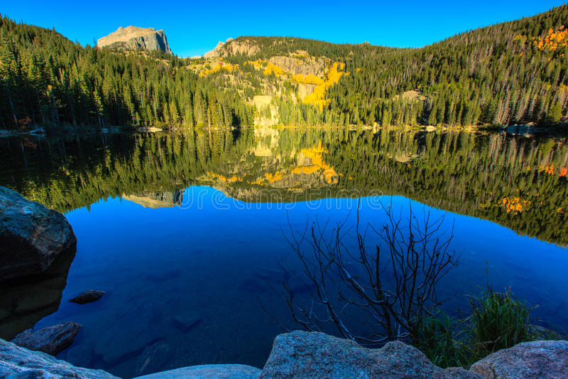 Lago bear fotografie stock