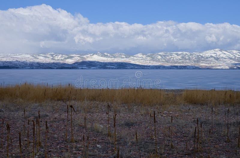 Lago bear, Utah imágenes de archivo libres de regalías