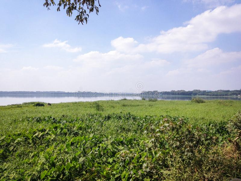 Lago Belandur fotos de archivo