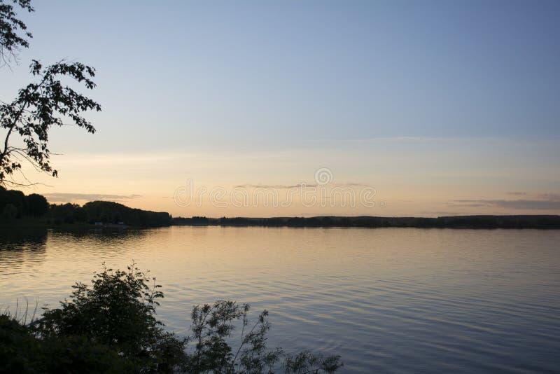 Lago belarus immagine stock
