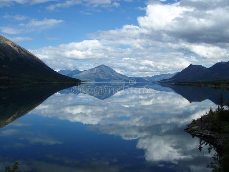 Lago Bennett 2 foto de stock royalty free