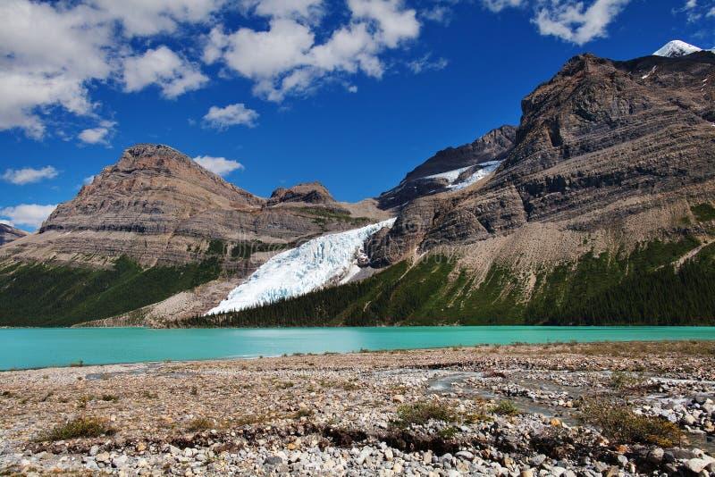 Lago berg fotografia stock