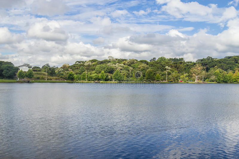 Lago Bernardo del sao imagenes de archivo