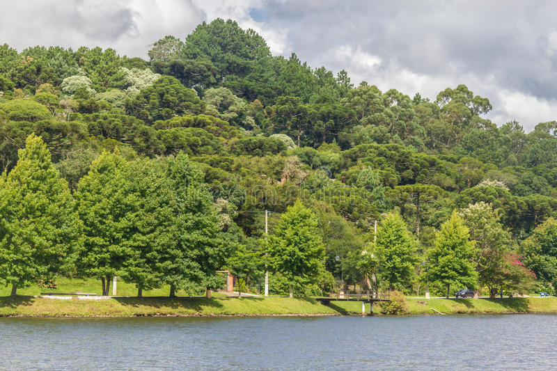 Lago Bernardo del sao imagen de archivo
