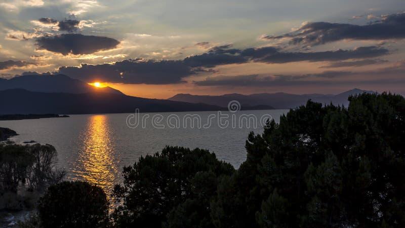 Lago Beysehir, konya fotografia de stock