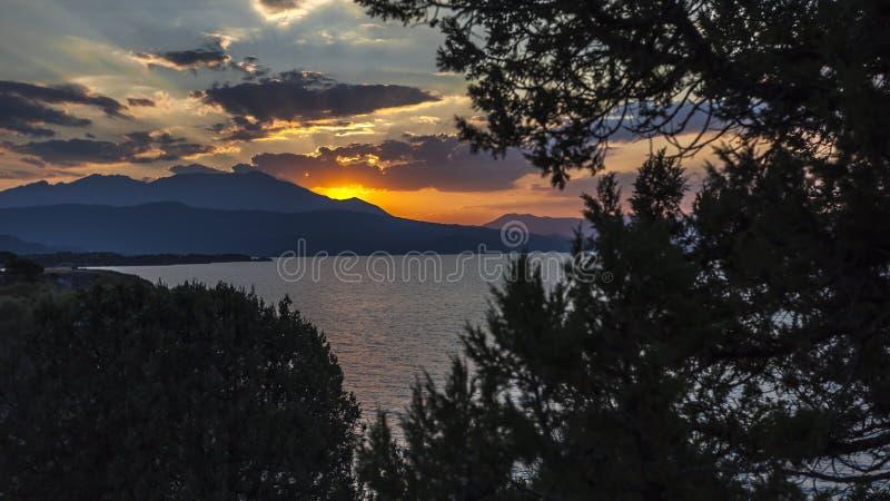 Lago Beysehir, konya imagem de stock