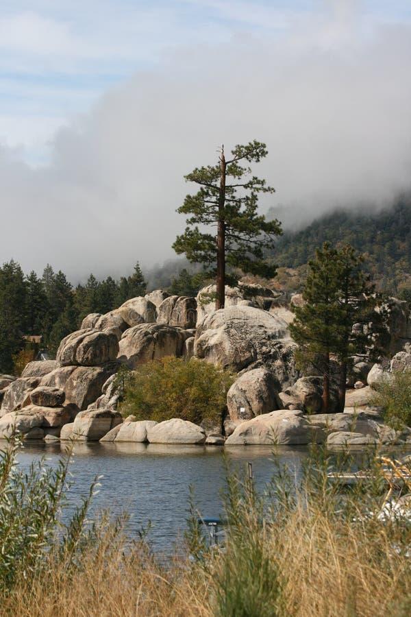 Lago big Bear foto de stock