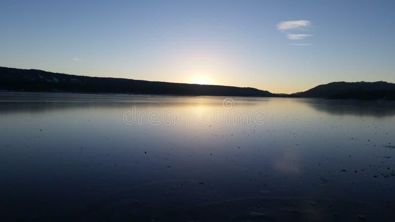 Lago big Bear immagine stock libera da diritti