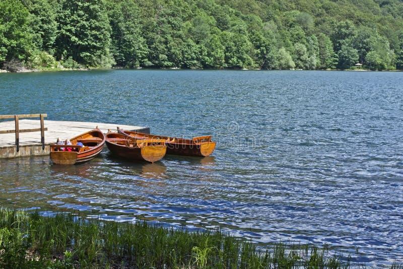 Lago Biograd foto de archivo