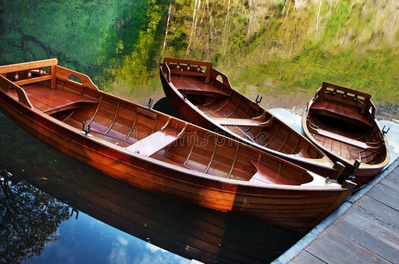 Lago Biograd, Montenegro fotografia stock