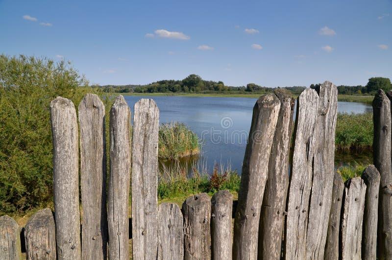 Lago Biskupin imagenes de archivo