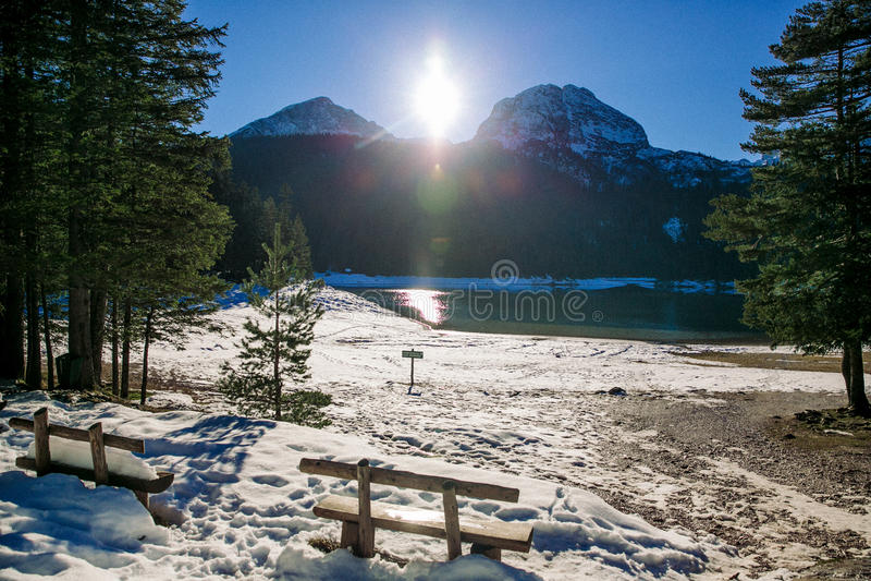 Lago Blak immagini stock