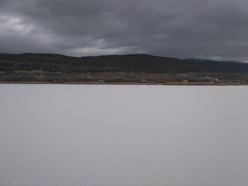 Lago blanco fotografía de archivo libre de regalías