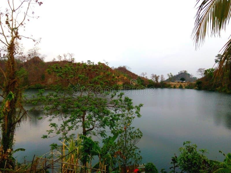 Lago Boga fotografia stock libera da diritti