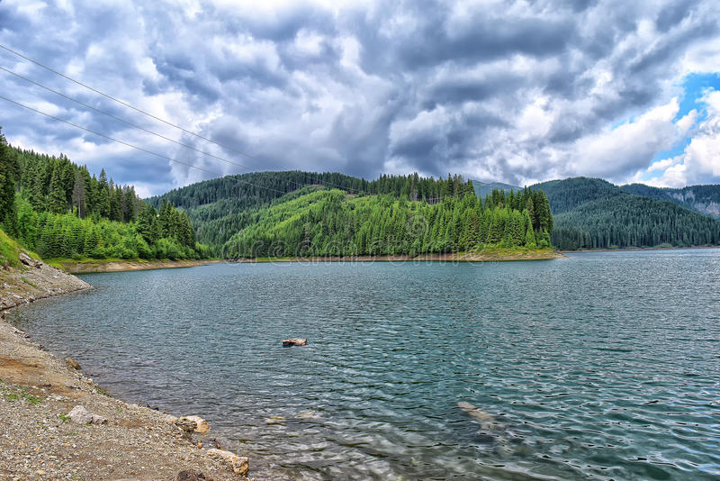 Lago Bolboci imagenes de archivo