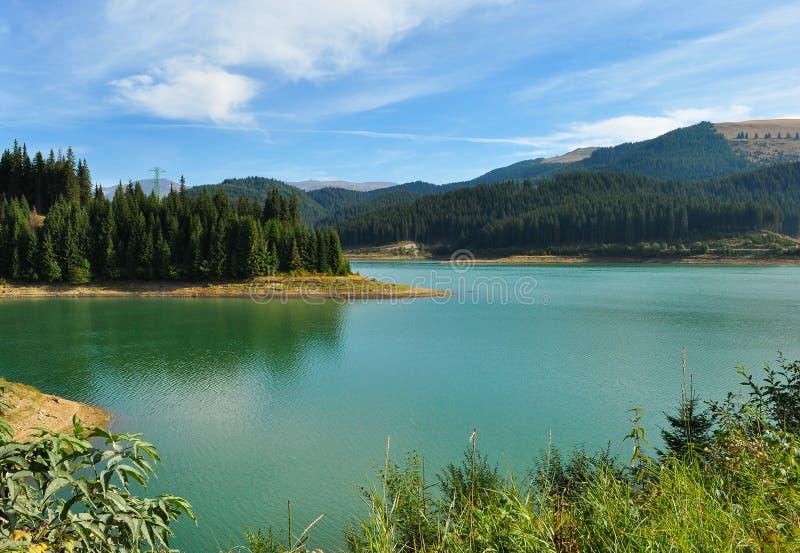 Lago Bolboci mountain imagem de stock royalty free