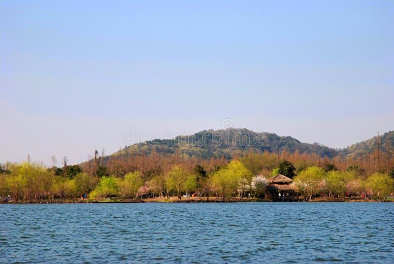 Lago bonito imagens de stock