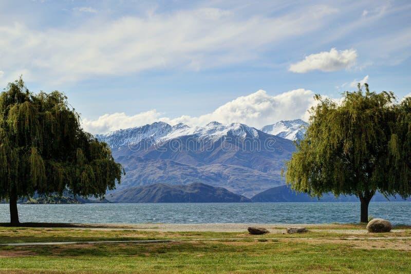 Lago bonito fotografia de stock