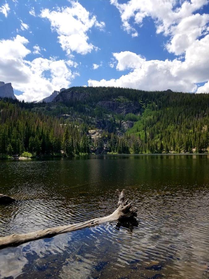 Lago bonito colorado fotos de stock