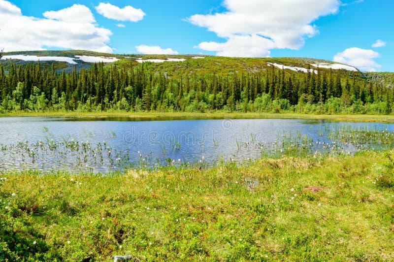 Lago bonito mountain fotografia de stock