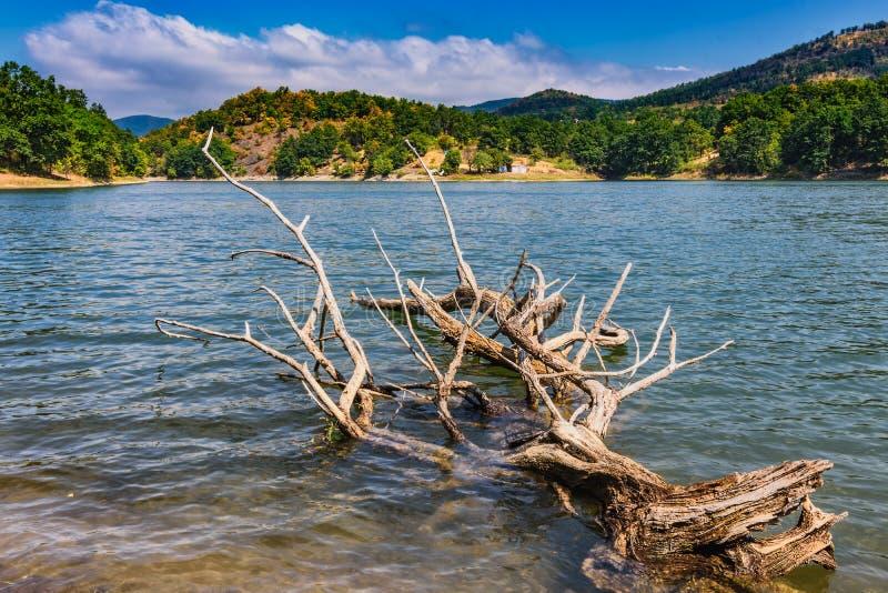 Lago Bor no leste da Sérvia fotografia de stock