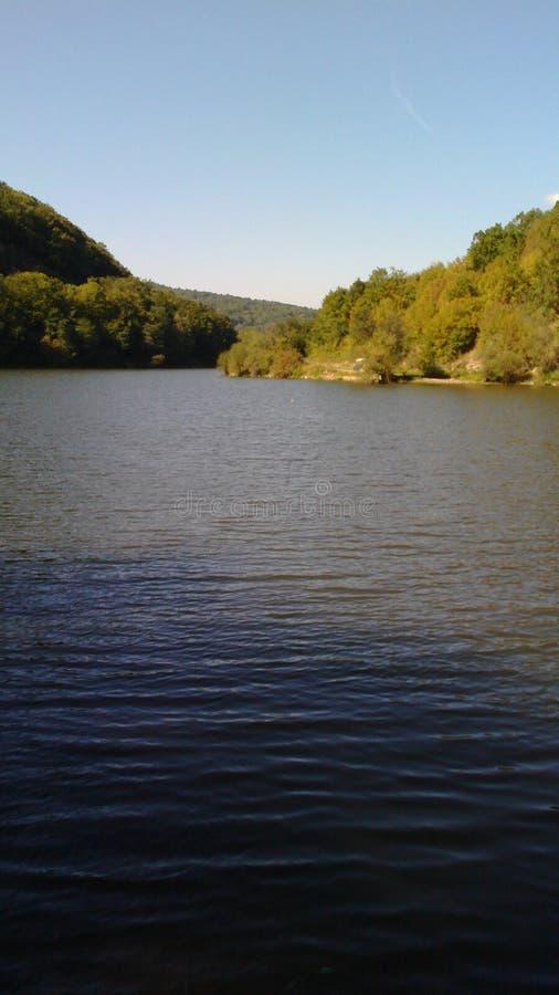 Lago Bovan del encanto fotografía de archivo libre de regalías