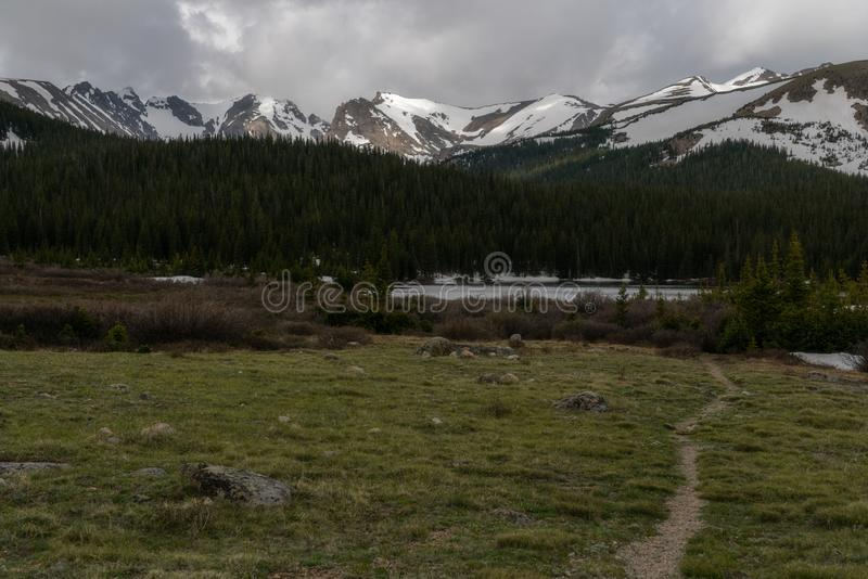 Lago Brainard - Colorado imagen de archivo libre de regalías