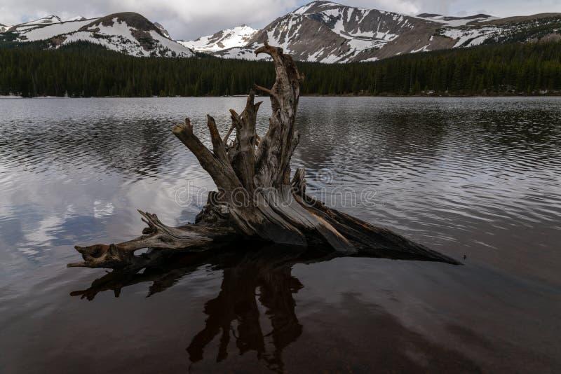 Lago Brainard - Colorado imagen de archivo