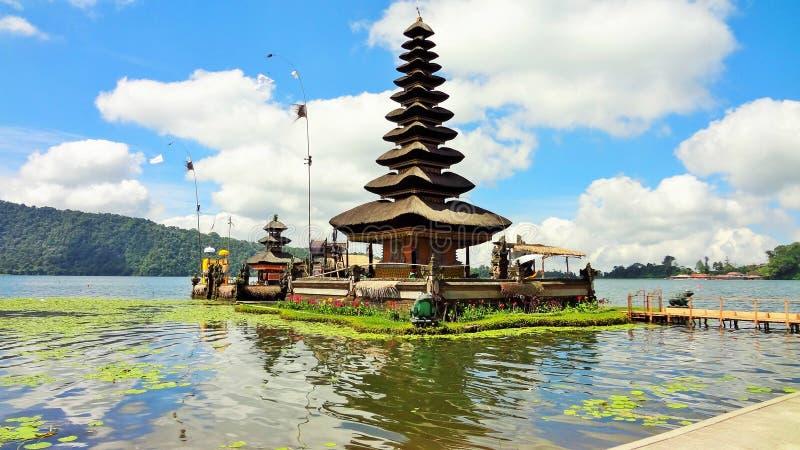 Lago Bratan, Bali Indonésia foto de stock royalty free