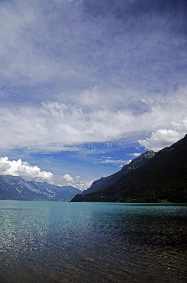 Lago Brienz imagen de archivo libre de regalías