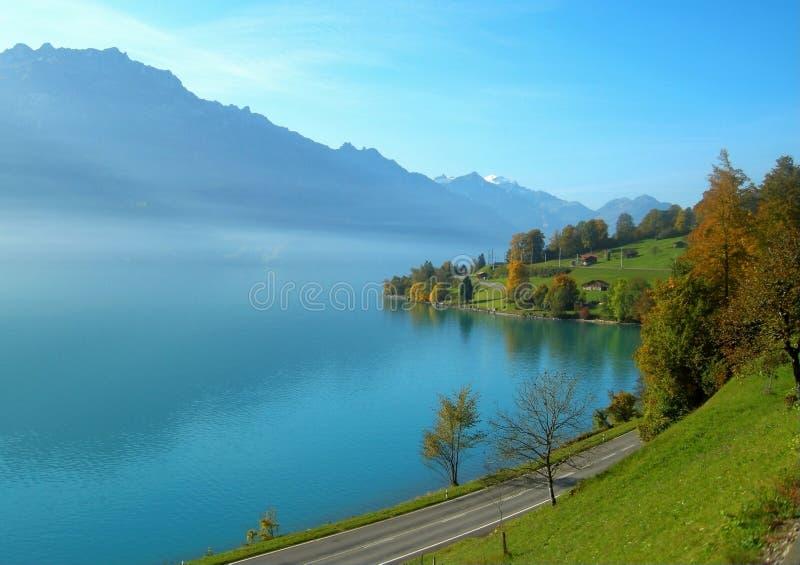 Lago Brienz fotografie stock