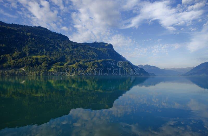 Lago Brienz immagini stock libere da diritti