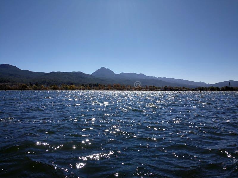 Lago brillante Lashi immagini stock libere da diritti