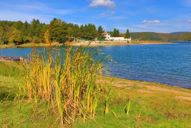 Lago Bulgária Iskar imagens de stock