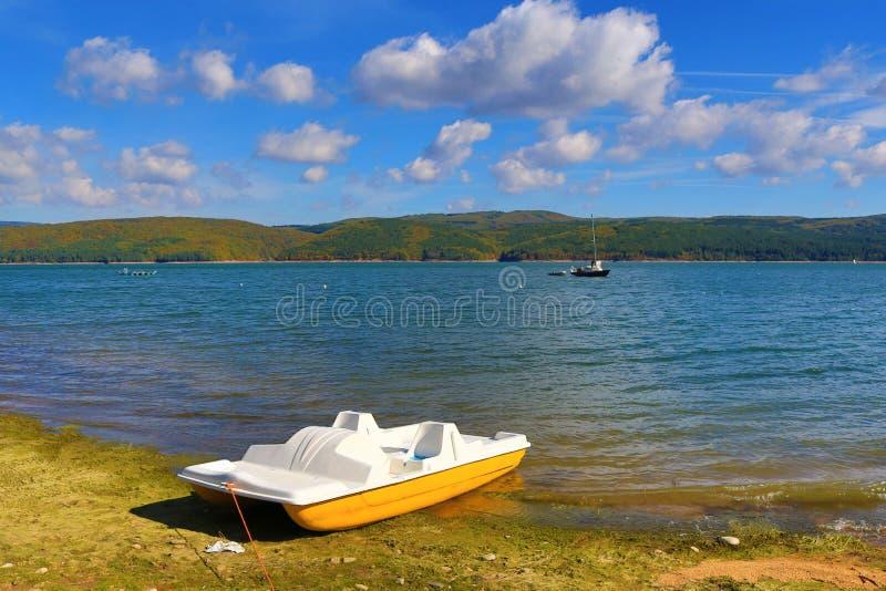 Lago Bulgária Iskar fotos de stock