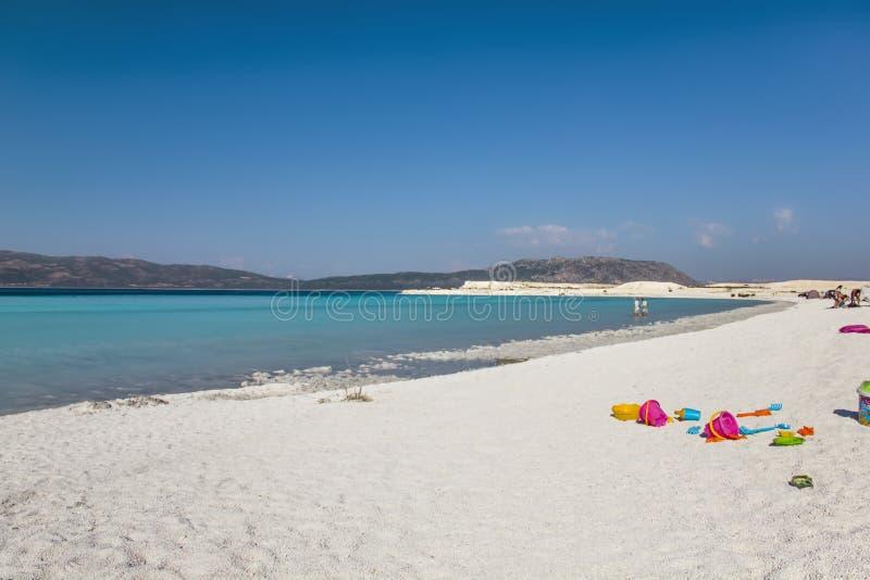 Lago Burdur Turquia Salda foto de stock