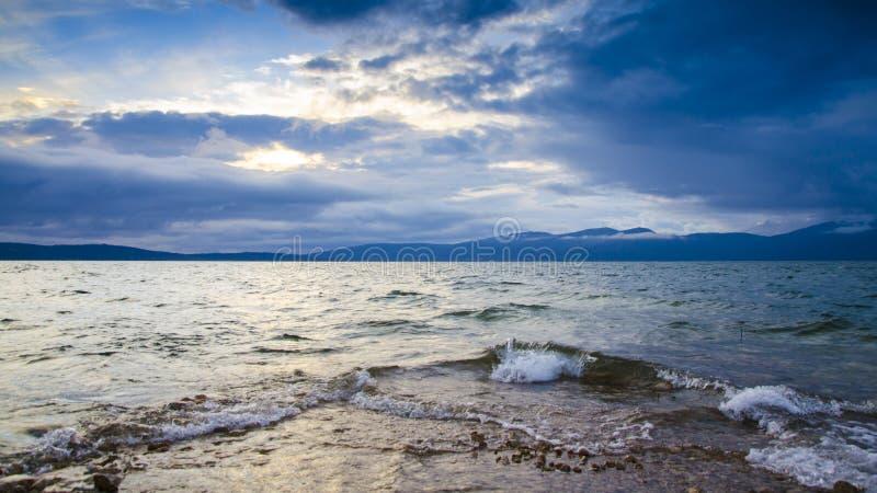 Lago Busko do bosniano fotografia de stock royalty free