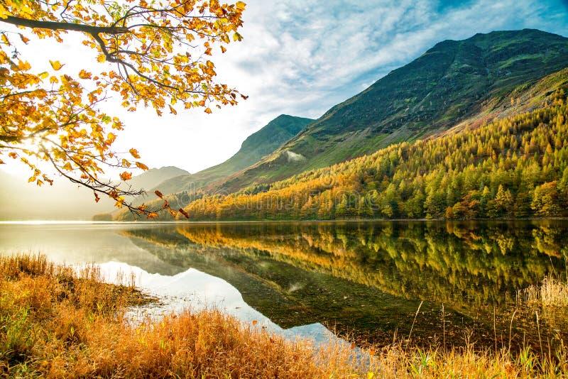 Lago Buttermere immagini stock