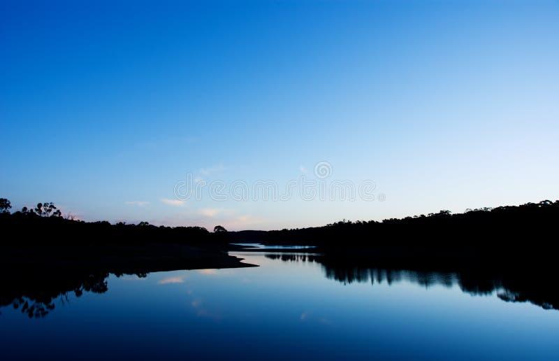 Lago calmo foto de stock royalty free
