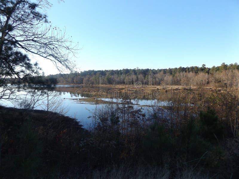 Lago Caney imagens de stock