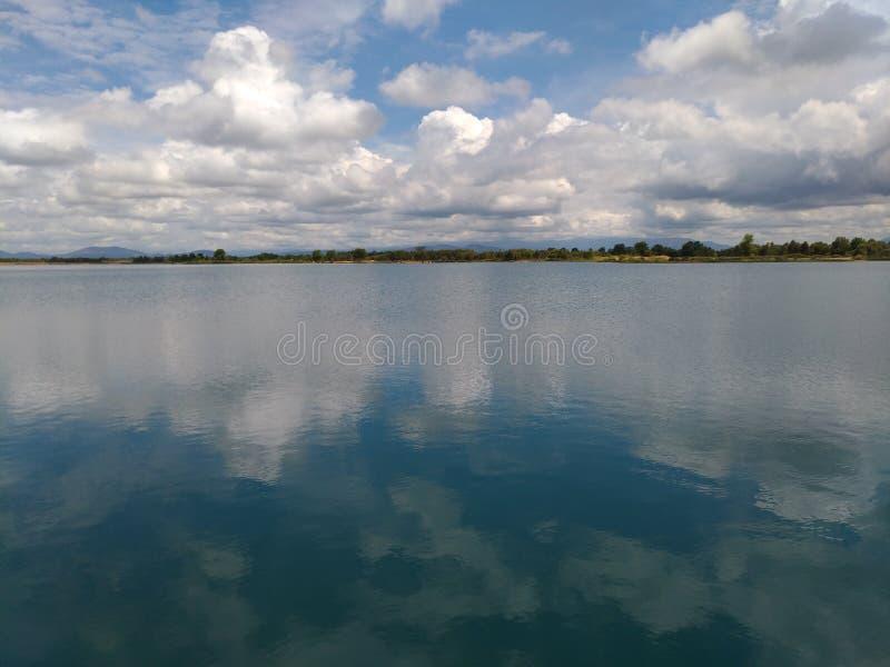 Lago Caramin foto de stock