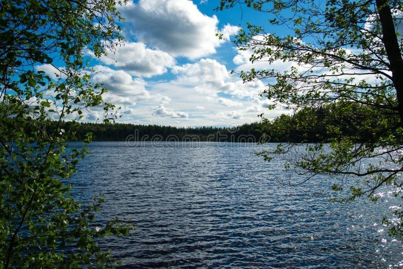Lago carelio fotos de archivo