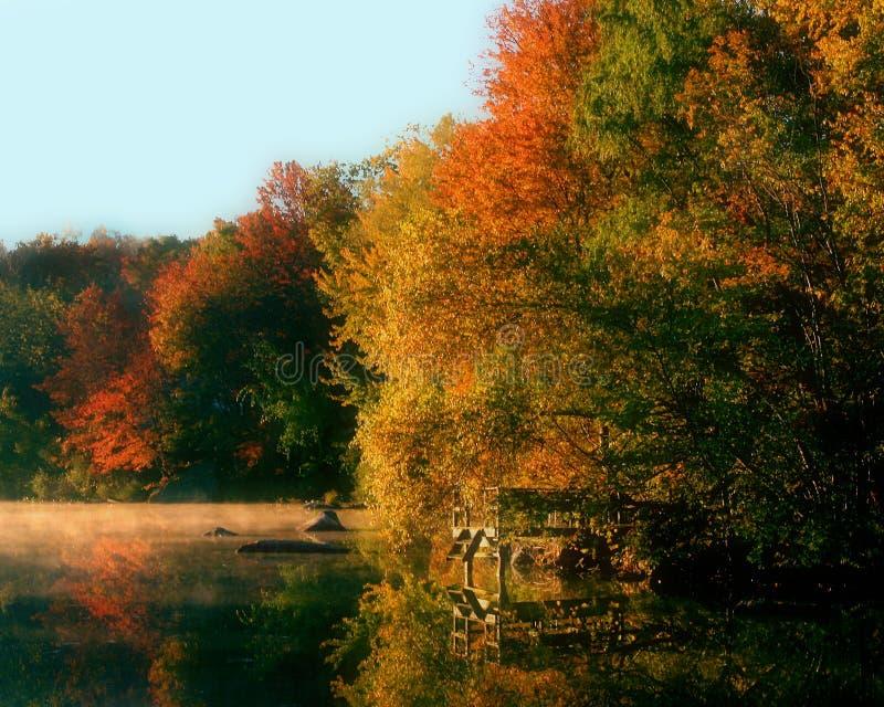 Lago Carmel, N.Y. fotos de archivo