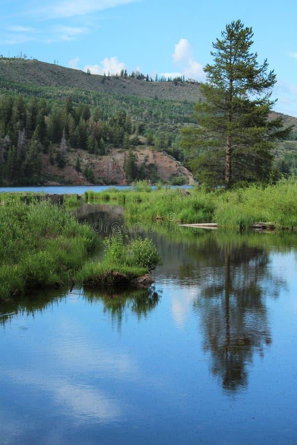 Lago cataract, Colorado imagens de stock