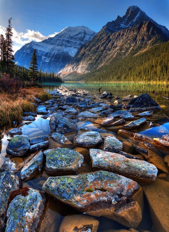 Lago Cavell fotografía de archivo libre de regalías